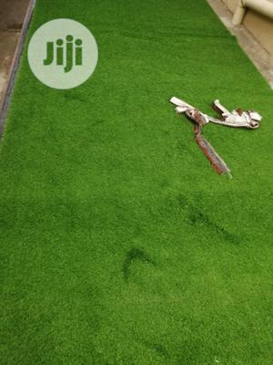 New & Original Artificial Green Grass Carpet Turf For Outdoor/Indoor.   Garden for sale in Lagos State, Ikeja