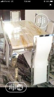 Quality Strong Six Seater Marble Dining Table | Furniture for sale in Abia State, Aba South