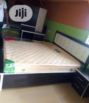 6by6 Bed Frame Wt Original Spring Mattress | Furniture for sale in Lagos State, Ojo