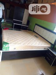 6×6 Bed Frame Wt Imported Spring Mattress | Furniture for sale in Lagos State, Ojo