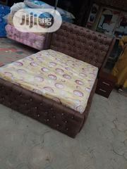 6×4 Bed Frame Wt Mattress | Furniture for sale in Lagos State, Ojo