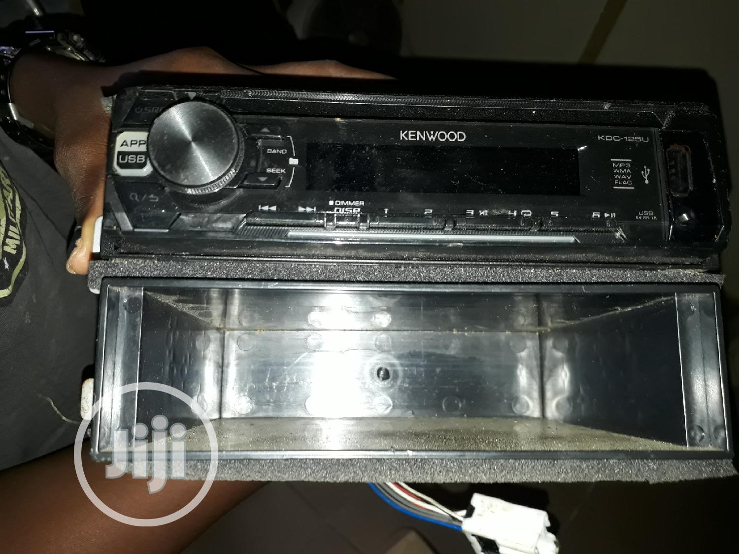 Tokunbo Car Audio Sound System   Vehicle Parts & Accessories for sale in Ojodu, Lagos State, Nigeria