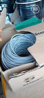 Cat6 CCTV Camera Cable Copper By 300 Meter | Accessories & Supplies for Electronics for sale in Lagos State, Ojo