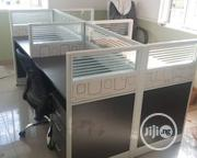 High Quality Brand New Four Seaters Workstation Table   Furniture for sale in Lagos State, Lekki Phase 1
