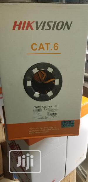 Hikvision Cat 6 Pure Copper Cable | Accessories & Supplies for Electronics for sale in Lagos State, Ikeja