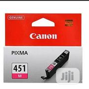 Original Canon CLI-451 Magenta Ink Cartridge   Accessories & Supplies for Electronics for sale in Lagos State, Ikeja