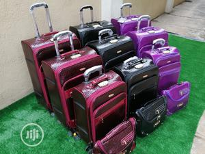 3 In 1 Fancy Luggages With Handbag   Bags for sale in Yobe State, Karasuwa