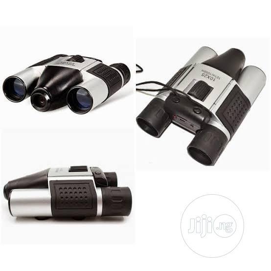 Digital Camera Binoculars Video Recording Telescope 10x25 | Camping Gear for sale in Ikeja, Lagos State, Nigeria