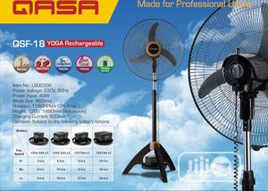 Qasa Rechargeable Yoga Fan 18   Home Appliances for sale in Lagos State, Ojo