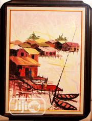Seascape Acrylic On Canvas Painting Art Work 60 X 90   Building & Trades Services for sale in Lagos State, Surulere