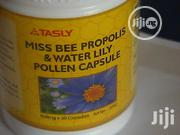 Tasly Miss Bee Propolis Water Lily Pollen Capsule | Vitamins & Supplements for sale in Lagos State, Alimosho