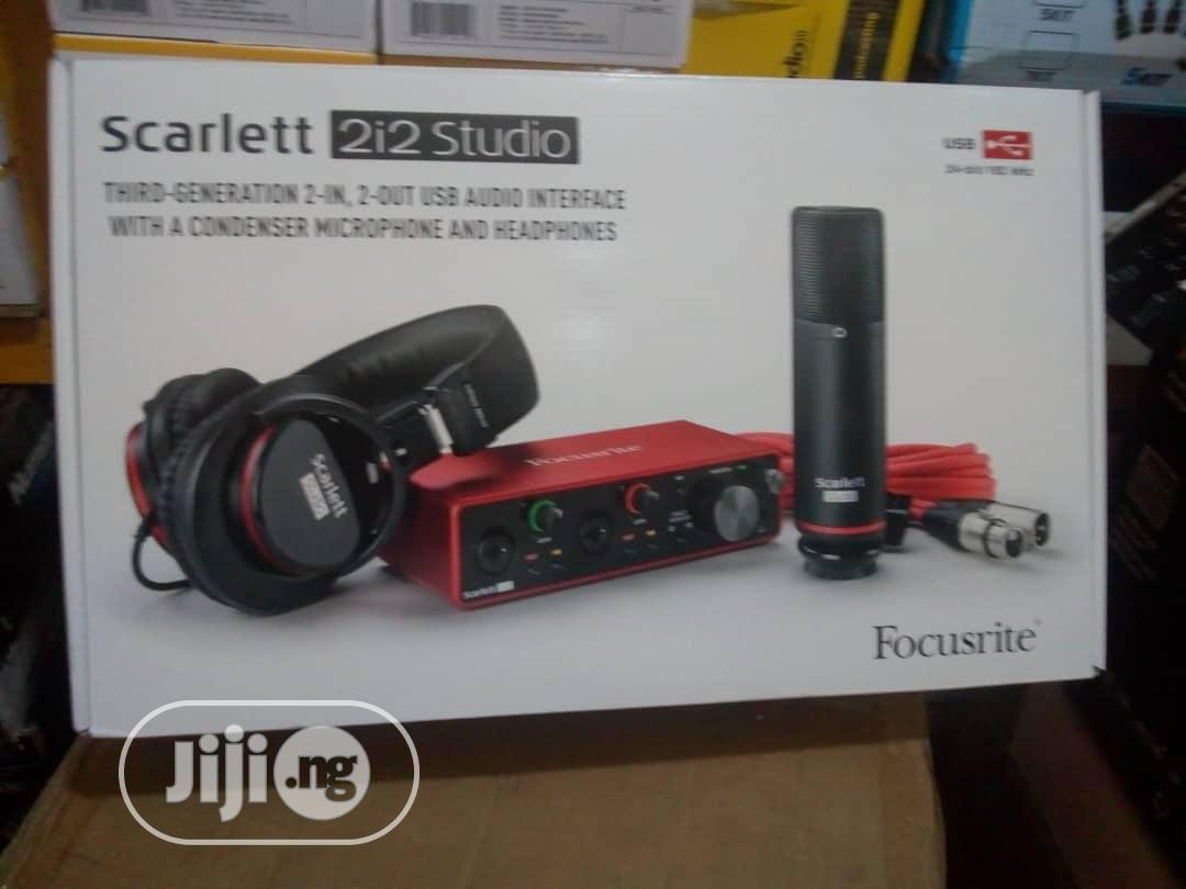 Scarlet 2i2 Third Generation Audio Interface