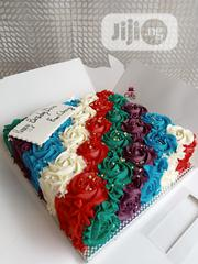 Colorful Rosette Cake | Party, Catering & Event Services for sale in Lagos State