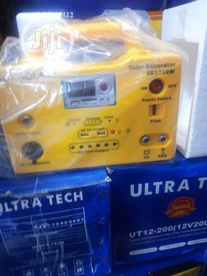 Powerful Ultra Tech Solar Generator