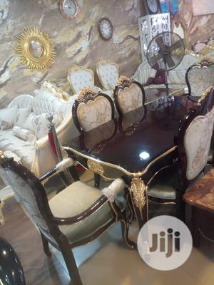 Turkey. Royal Wooden.Dining Table.With Executive Chairs   Furniture for sale in Lagos State