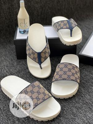 Archive: Gucci Branded Palm Slippers in