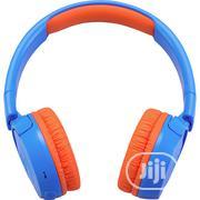 JBL JR300BT Kids Wireless On-ear Headphones - Blue/Arancio | Headphones for sale in Lagos State, Ikeja