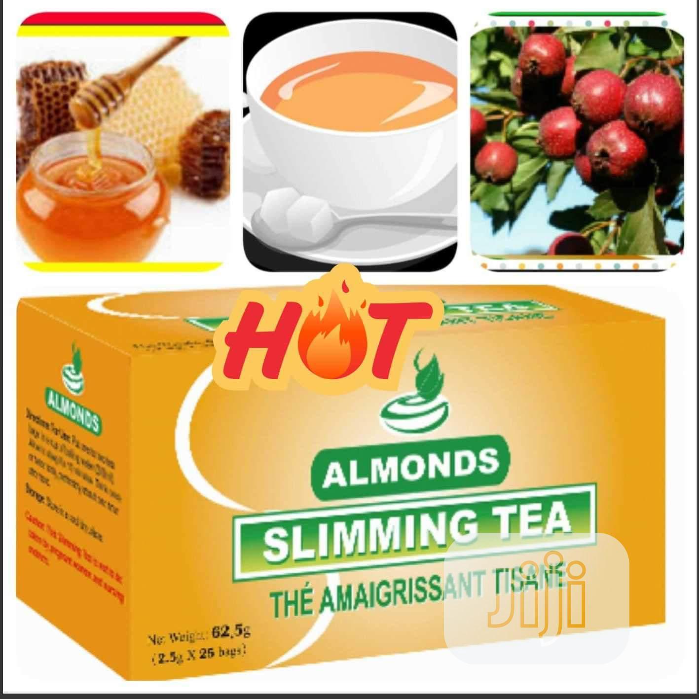Almonds Slimming Tea