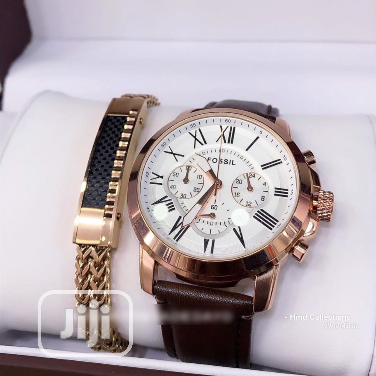 Classic Chronograph Working Fossil Wristwatch