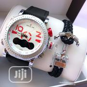 Classic Digital and Analog Wristwatch With Exclusive Bracelet | Jewelry for sale in Lagos State, Lagos Island
