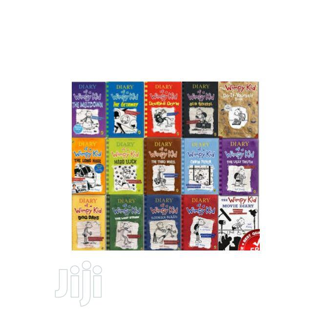 Diary of a Wimpy Kid Collection (15 Books)