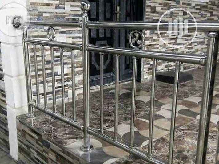 Stainless Steel Handrails.