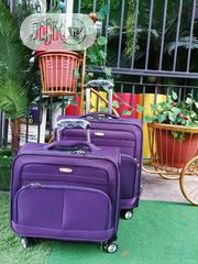 Fashionable 2 in 1 Purlpe Luggages | Bags for sale in Osun State, Oriade