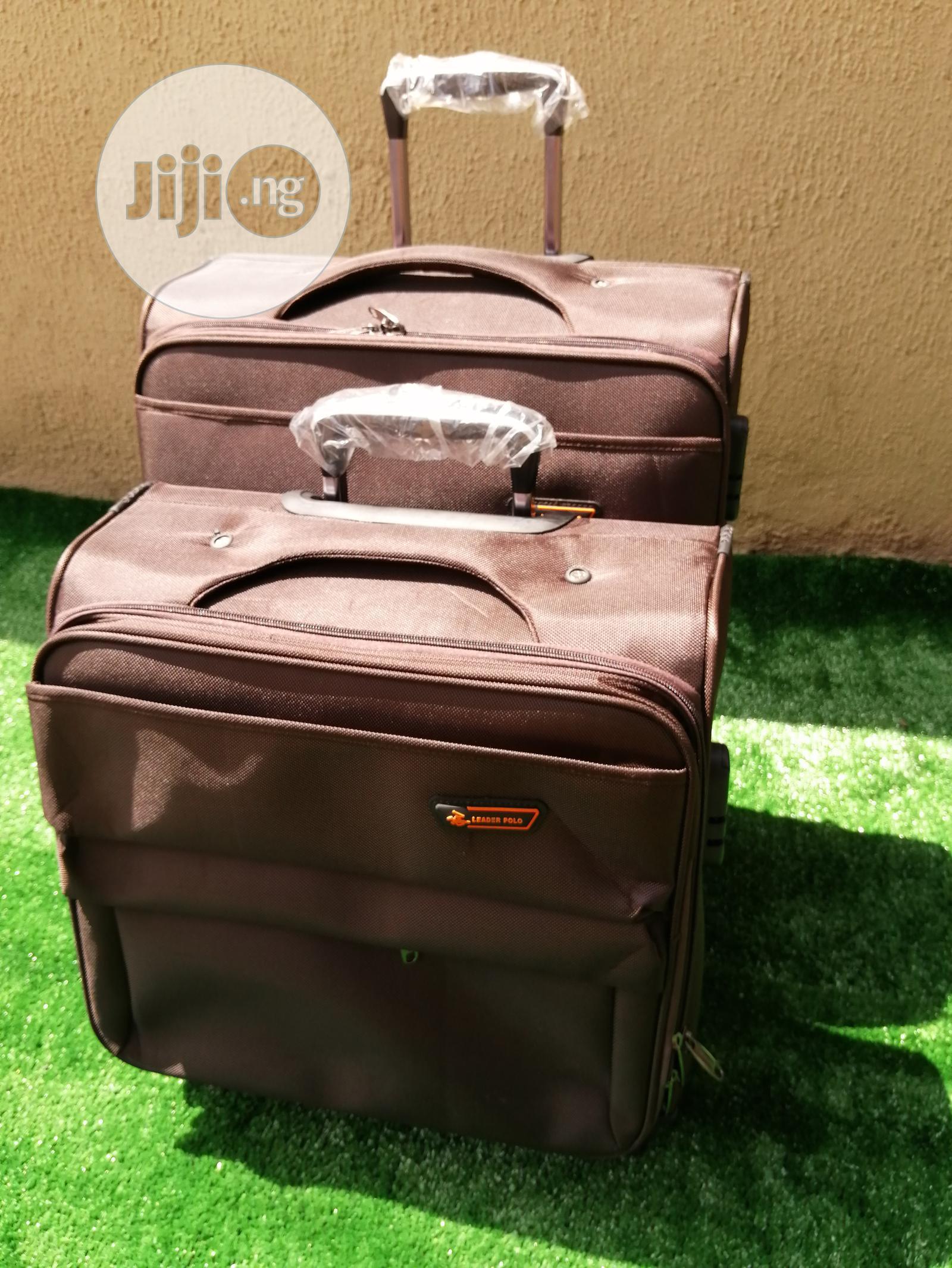 2 in 1 Fancy Luggages   Bags for sale in Gashaka, Taraba State, Nigeria