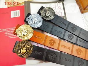 Versace Designer Belts (ORIGINAL LEATHER) | Clothing Accessories for sale in Lagos State, Lagos Island (Eko)