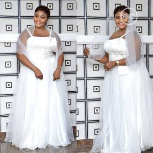 White Wedding Gown Made In Turkey Ball Gown | Wedding Wear & Accessories for sale in Lagos State