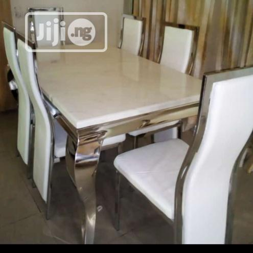 Archive: Imported Mabel Dining Table With Six Chairs.