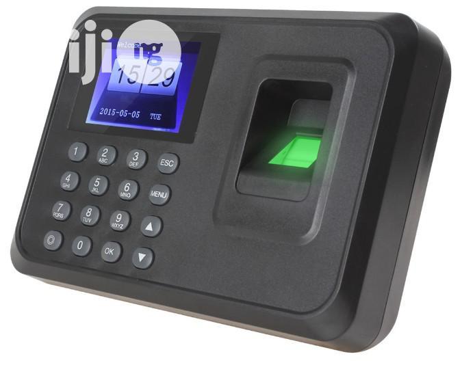 A6 Fingerprint Time Attendance Clock   Computer Accessories  for sale in Ikeja, Lagos State, Nigeria