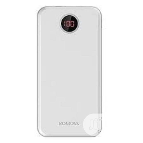 Romoss Horus Power Bank 20000mah-Long Lasting and Full Charge-White | Accessories for Mobile Phones & Tablets for sale in Lagos State, Nigeria