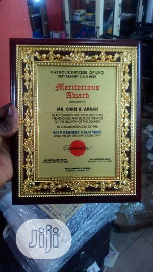 Wooden Plaque Award | Arts & Crafts for sale in Lagos State, Ikoyi