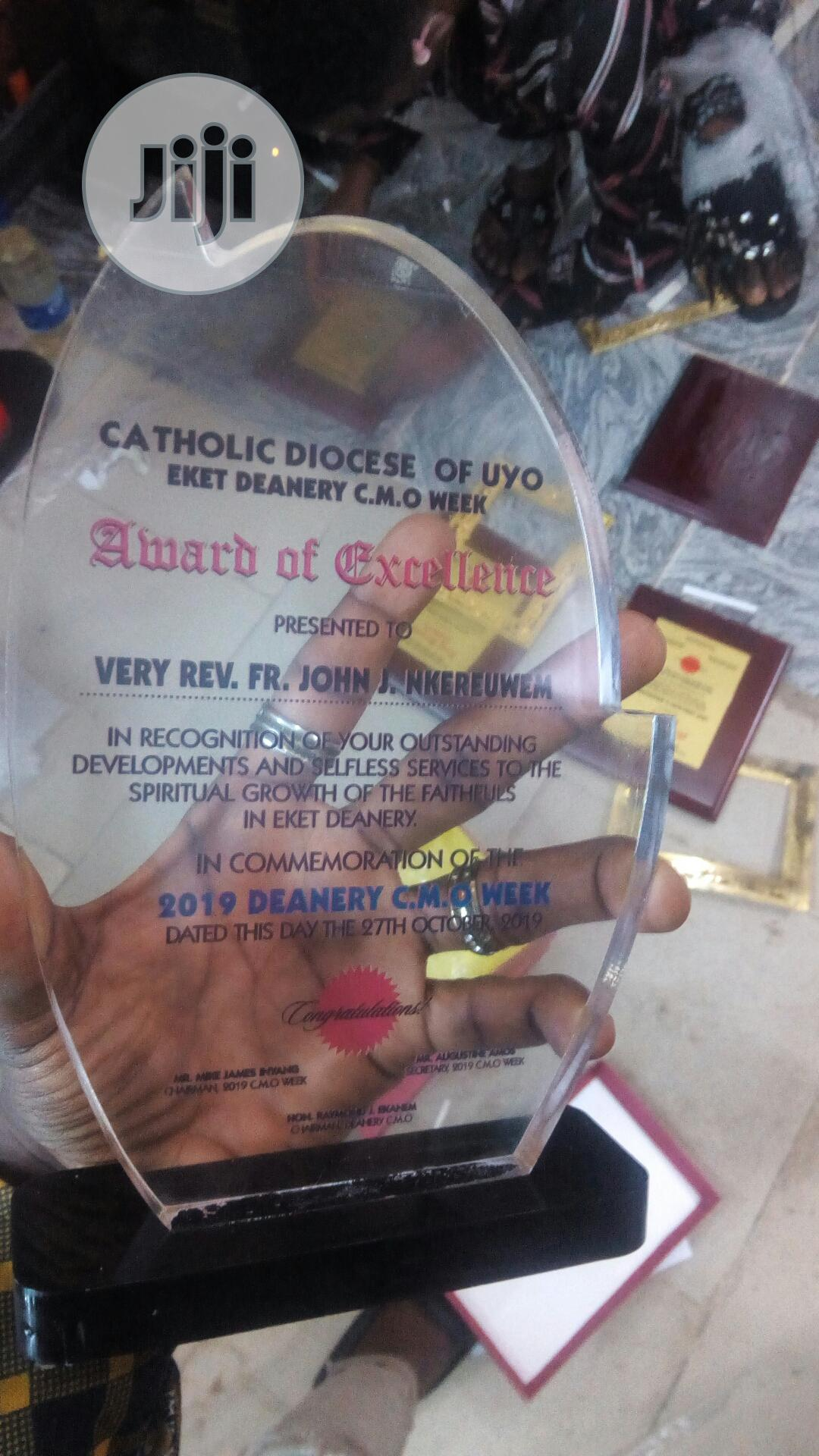 Quality Award | Arts & Crafts for sale in Ikoyi, Lagos State, Nigeria