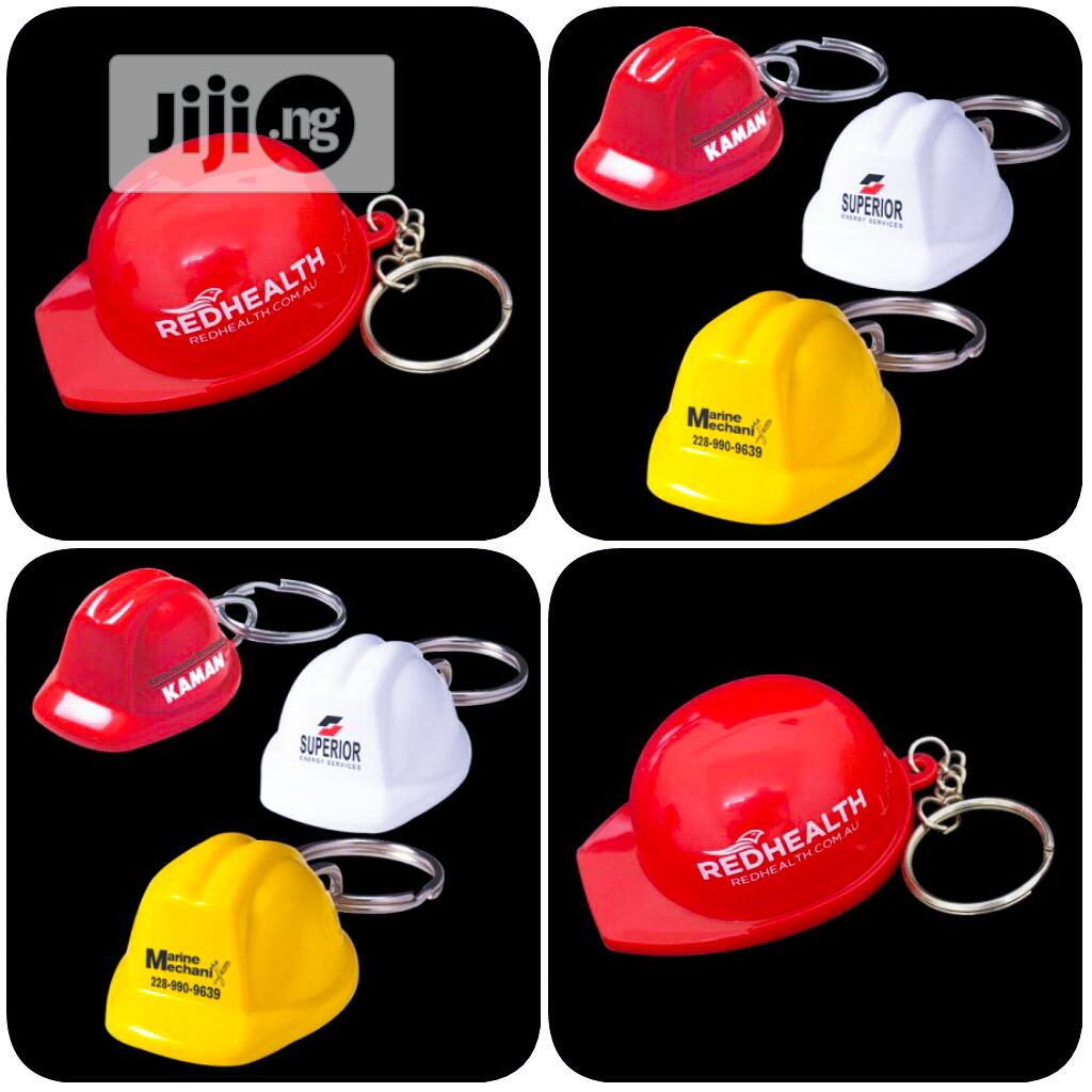 Helmet Keyring, Keychains, Key Holder Corporate Promotional Gifts