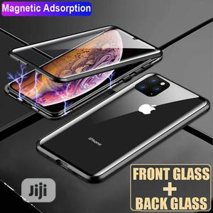 360° Double Glass Magnetic Adsorption Case Cover for iPhone 11 Pro Max   Accessories for Mobile Phones & Tablets for sale in Lagos State, Ikeja