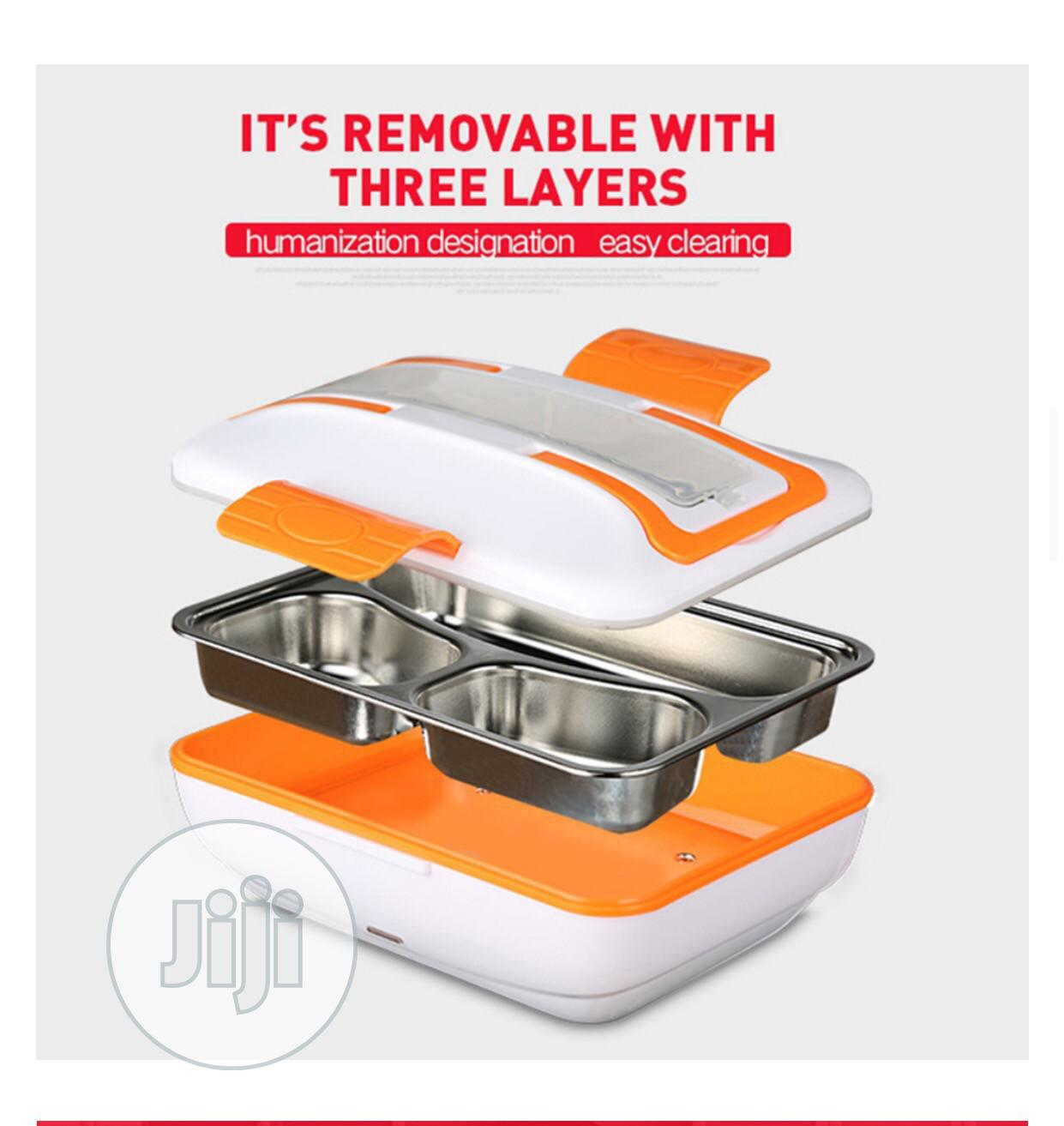 Electric Lunch Box Stainless | Kitchen & Dining for sale in Isolo, Lagos State, Nigeria