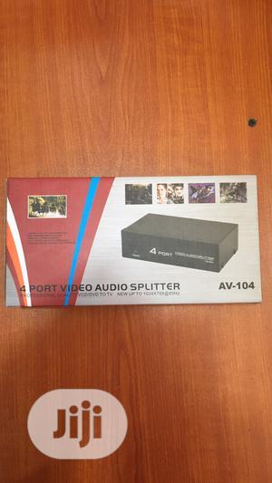 4 Port AV Splitter   Accessories & Supplies for Electronics for sale in Lagos State, Ikeja