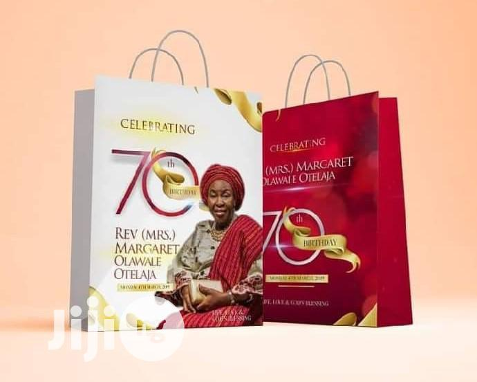 Carrier Bags Branding | Computer & IT Services for sale in Ikeja, Lagos State, Nigeria