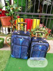 Fashion 2 in 1 Blue Luggage | Bags for sale in Ebonyi State, Onicha