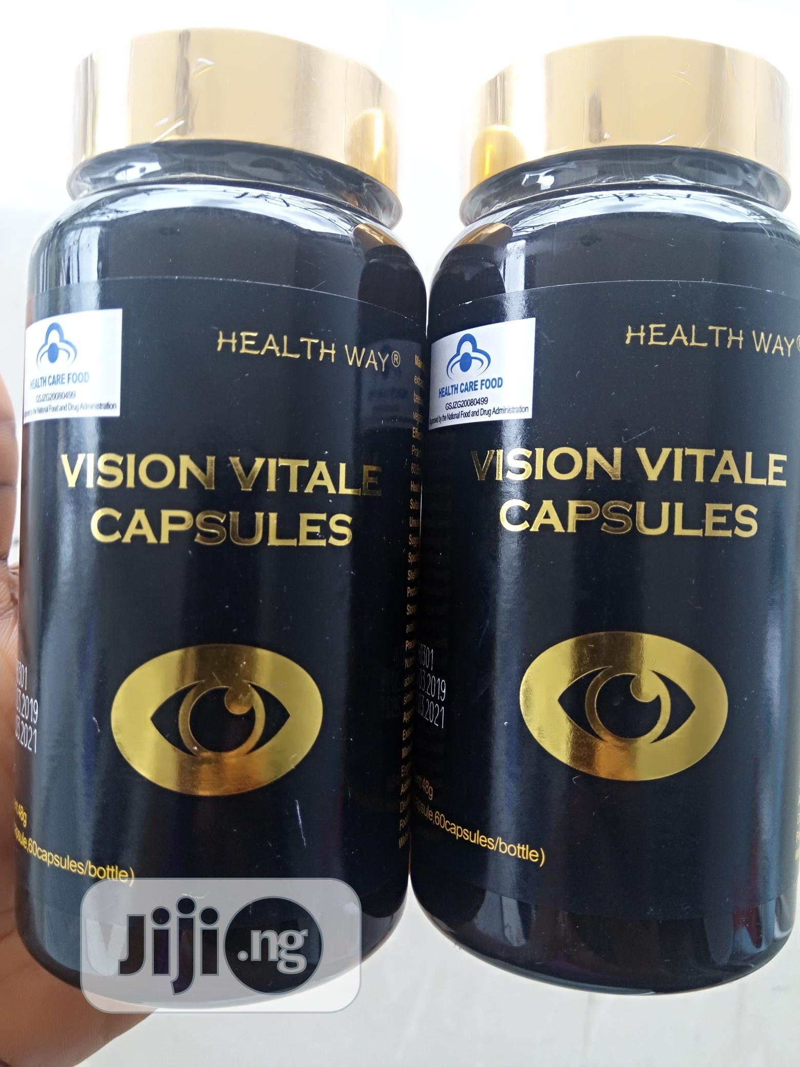 100% Total Cure for Glaucoma, Cataracts, Myopia, Blurry, Vision Vitale | Vitamins & Supplements for sale in Central Business Dis, Abuja (FCT) State, Nigeria