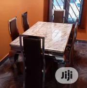 Durable Marble Dining Table by Six Seater | Furniture for sale in Enugu State, Enugu