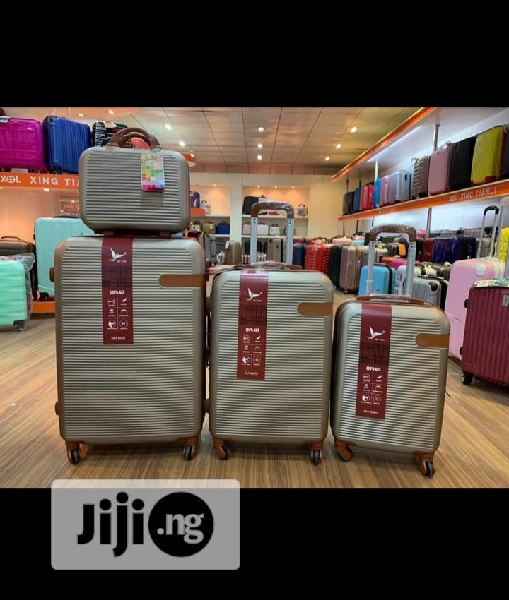 Exotic Fashionable 4 In 1 ABS Luggage