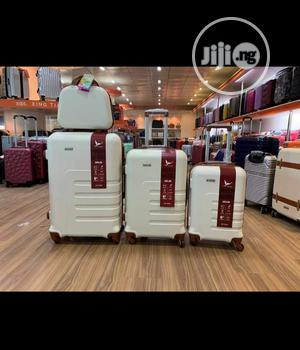 Durable And Exotic 3 In 1 ABS Trolley Luggage With Handbag | Bags for sale in Abia State, Arochukwu