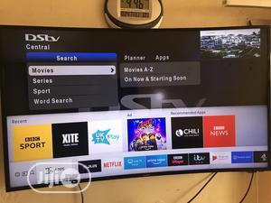 Curve Samsung UHD 4k Smart Tv 50 Inch | TV & DVD Equipment for sale in Abuja (FCT) State, Garki 1