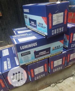 Luminous 200ah Battery | Solar Energy for sale in Lagos State, Ojo