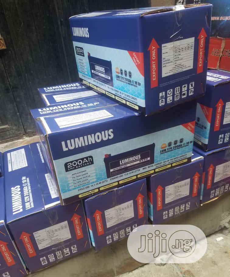 Luminous 200ah Battery