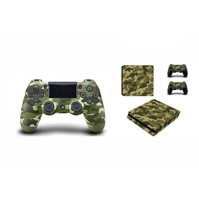 Sony PS4 Controller Pad + Free Camo Green Skin