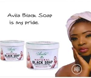 Avila Herbal Lightening Black Soap | Bath & Body for sale in Osun State, Olorunda-Osun